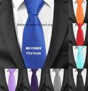 עניבה צבעונית עם הדפסה