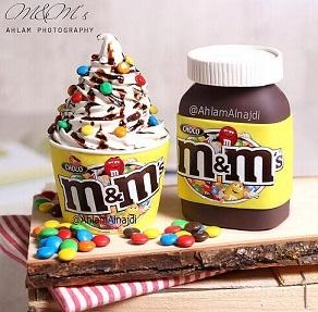 עוגת M&M