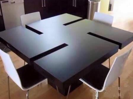 שולחן צלב קרס
