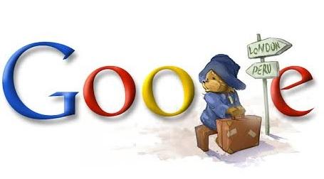 גוגל דודל של הדוב פדינגטון