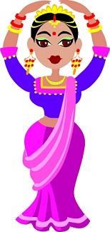 רקדנית הודית