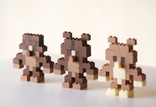 דמויות משוקולד