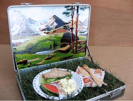 מזוודת פיקניק- לאכול במשרד ולהרגיש בטבע