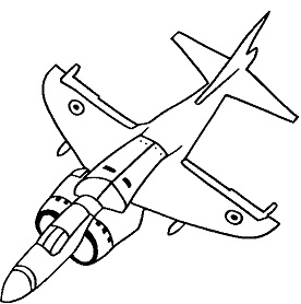 דפי צביעה של מטוסי קרב