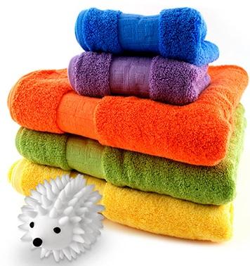 כדורי קיפוד למייבש הכביסה