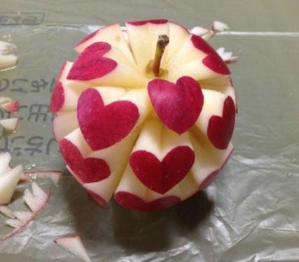 תפוח האהבה לחג האהבה