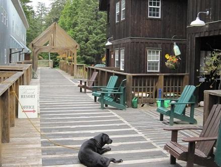 אתר הנופש של ג'ייסון פריסטלי בקולומביה הבריטית