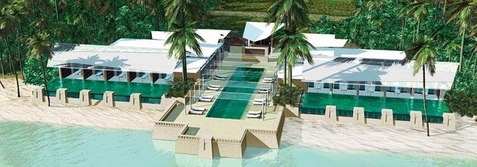 המלון של לאונרדו דיקפריו באי בלקדור קיי