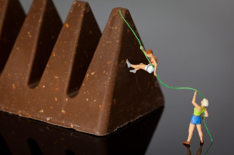 מטפסים על שוקולד