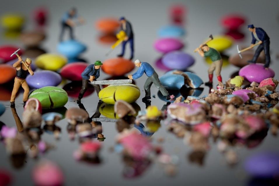 סוכריות עדשים