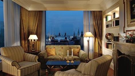 מלון ריץ קרלטון מוסקבה רוסיה