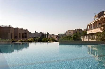 בריכת מלון מצודת דוד בירושלים