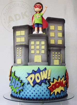עוגת סופר-על ילד
