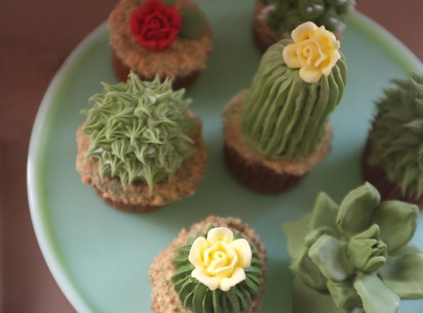 עוגות קקטוסים