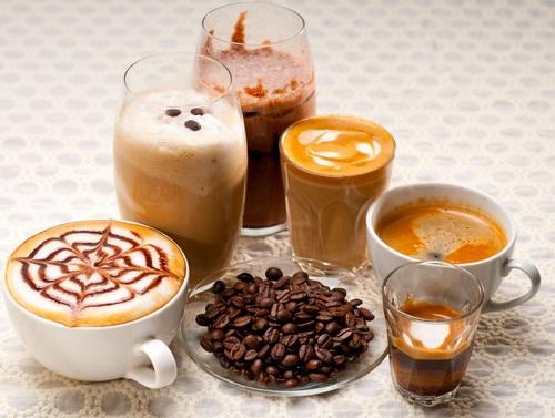 סוגים שונים של קפה