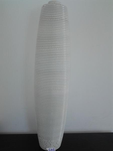 506-כלי לבן ענק  פלסטיק