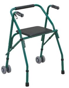 הליכון עם מושב וגלגלים