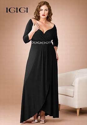 Empire Waist Gown-שחורה