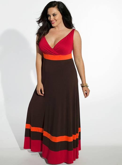 Nadine Maxi Dress in Red