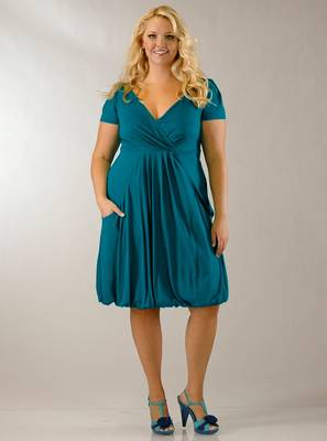 Bubble Dress with Pockets
