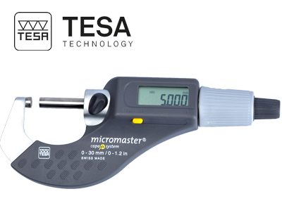 מיקרומטר דיגיטלי MICROMASTER תוצרת TESA