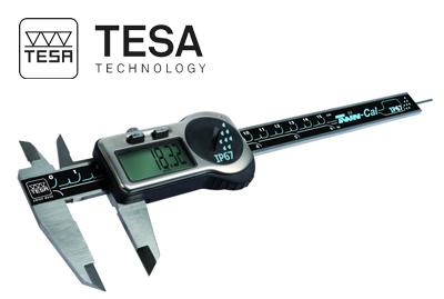 קליבר דיגיטלי אטום לנוזלים Twin Cal תוצרת TESA