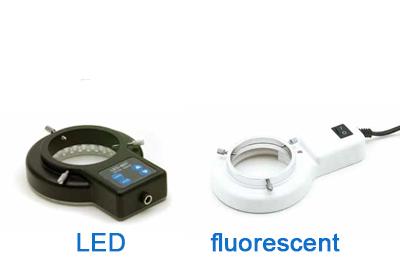 תאורה טבעתית למיקרוסקופ