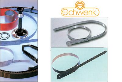 סרטי מדידה (צ'ירקומטרים) תוצרת Schwenk