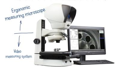 מיקרוסקופ מדידה SWIFT-DUO