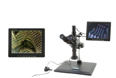 וידיא מיקרוסקופ מונו זום עם מסך