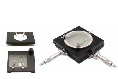 שולחן XY למיקרוסקופ