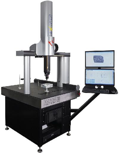מכונות מדידה XYZ תוצרת ABERLINK אנגליה