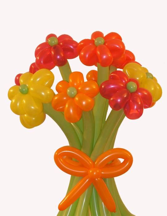 פרחים מבלונים - שבאמת רוצים להפתיע!