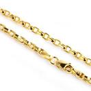 """שרשרת זהב לגבר בעובי 2 מ""""מ ובאורך 60 ס""""מ"""