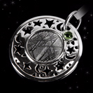 Shooting Star - Galaxy Jewelry - Star Jewelry - Space Jewelry - Meteorite Necklace - Campo Del Cielo -  'Around the Galaxy'
