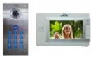 אינטרקום טלוויזיה עם קודן להתקנה תחת הטיח עם מוניטור צבע ואפשרות לחבר לאפליקציה