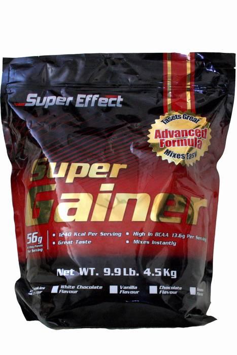 אבקת גיינר - SUPER EFFECT-SUPER GAINER