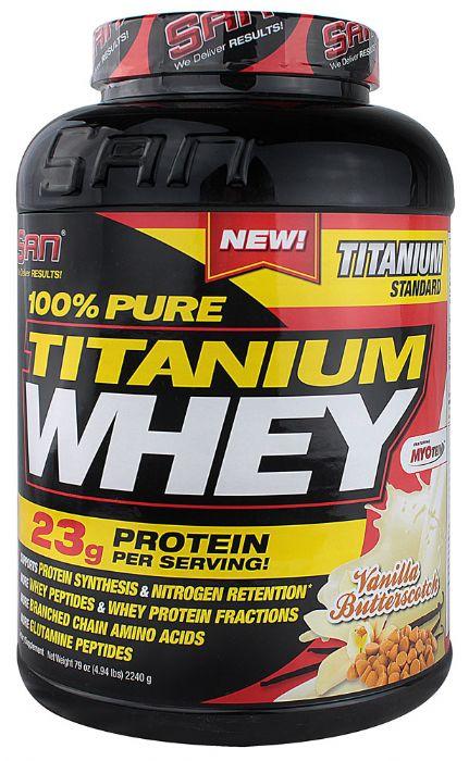 אבקת חלבון - SAN 100% PURE TITANIUM WHEY