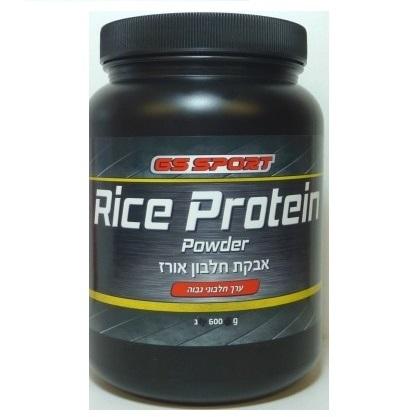 אבקת חלבון אורז - GS SPORT RICE