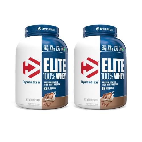 זוג אבקות חלבון DYMATIZE ELITE 2.3KG