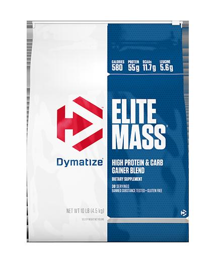 DYMATIZE ELITE MASS GAINER 4.5kg זוג אבקות גיינר