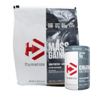 אבקת גיינר DYMATIZE SUPER MASS+קריאטין 1 קילו DYMATIZE