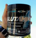 ATOM GLUTAMINE- אבקת גלוטמין אטום פלוס 300 גרם