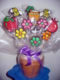 ראש השנה - עציץ עוגיות לחג