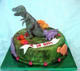 דינוזאור  טי-רקס - לרותם בן ה-4...מפחיד...