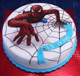 ספיידרמן - עוגה מצויירת לאופק בן ה-5