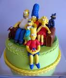 עוגת משפחת סימפסון בהרכב מלא... ליונתן בן ה-8