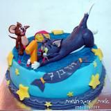 עוגת טום וג´רי לדוד