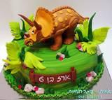 עוגת דינוזאור לארז
