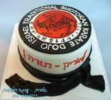 """עוגת תודה לאריק מנהל ביה""""ס לקראטה"""